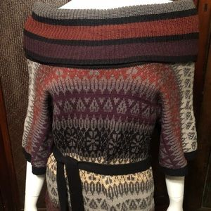 Jessica Simpson Sweater dress with cowl neck